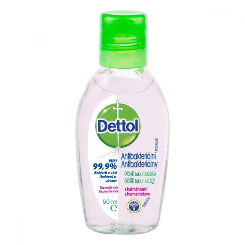 Dettol Antibakterialni gel heřmánkový 50ml