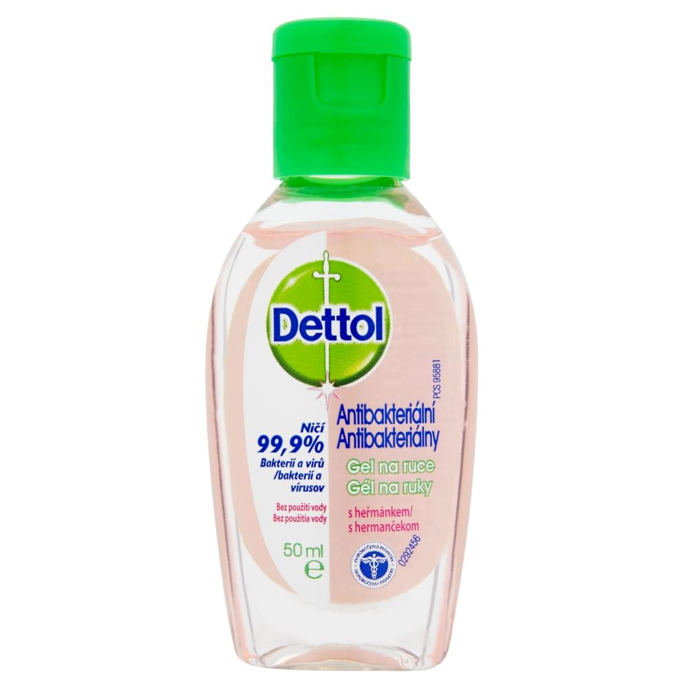 DETTOL Antibakterialni gel na ruce s heřmánkem (50ml)