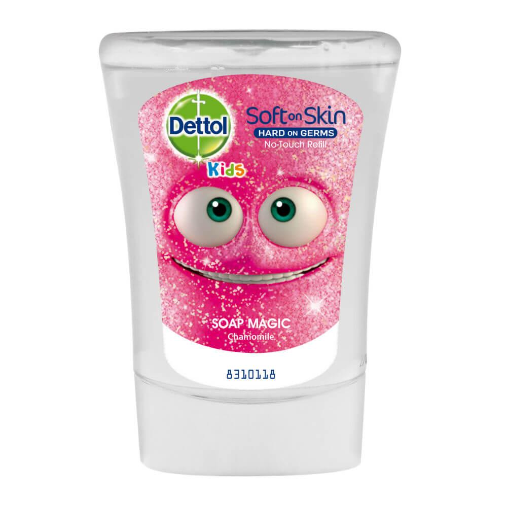 DETTOL Kids Mýdlový kouzelník - Náplň do bezdotykového dávkovače mýdla 250ml