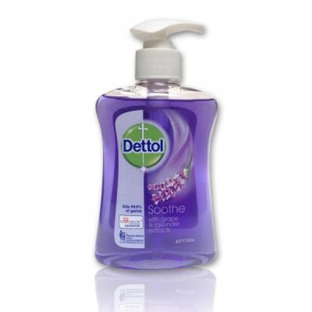 DETTOL tekuté antibakteriální mýdlo zklidňující 250 ml