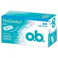 Tampony o.b.® ProComfort™ Light Days 16 kusů