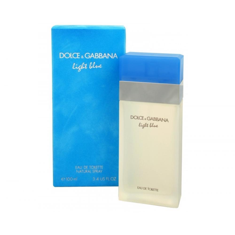 Dolce & Gabbana Light Blue Woman EdT 100 ml + tělový krém 100 ml + sprchový gel 100 ml dárková sada