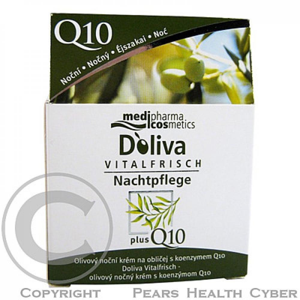 Doliva olivový noční krém na obličej s koenzymem Q10 50 ml