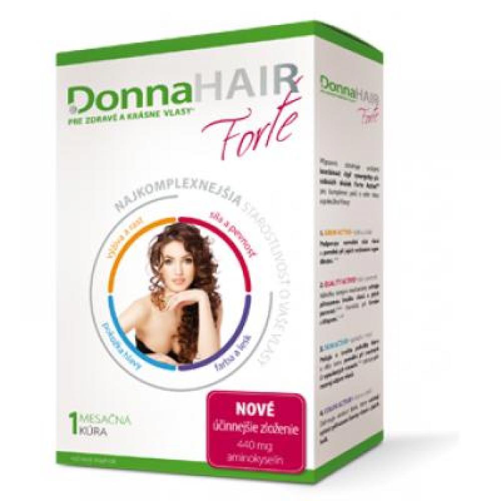 Donna Hair Forte 1měsíční kúra 30 tobolek