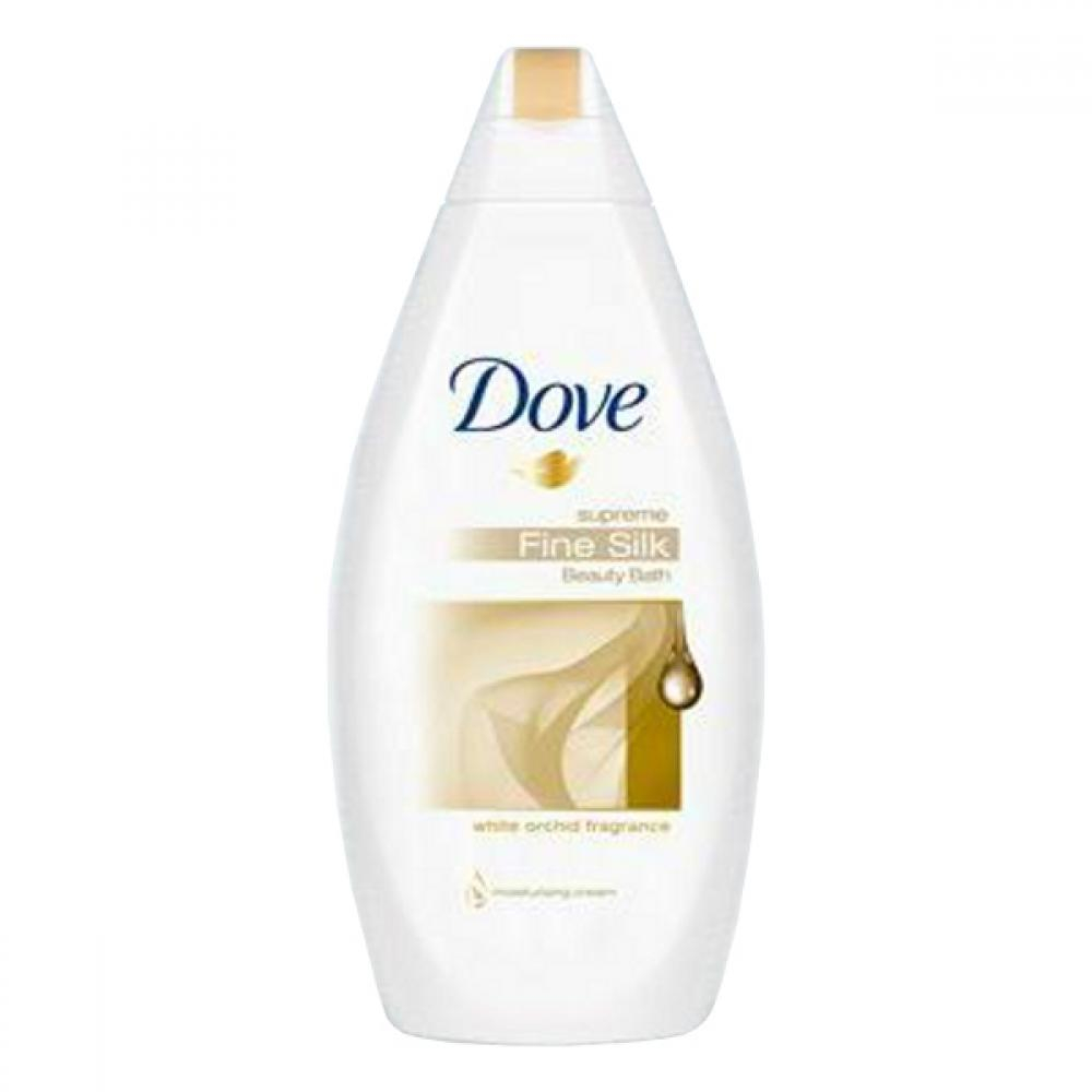 DOVE pěna do koupele 500ml, hedvábná