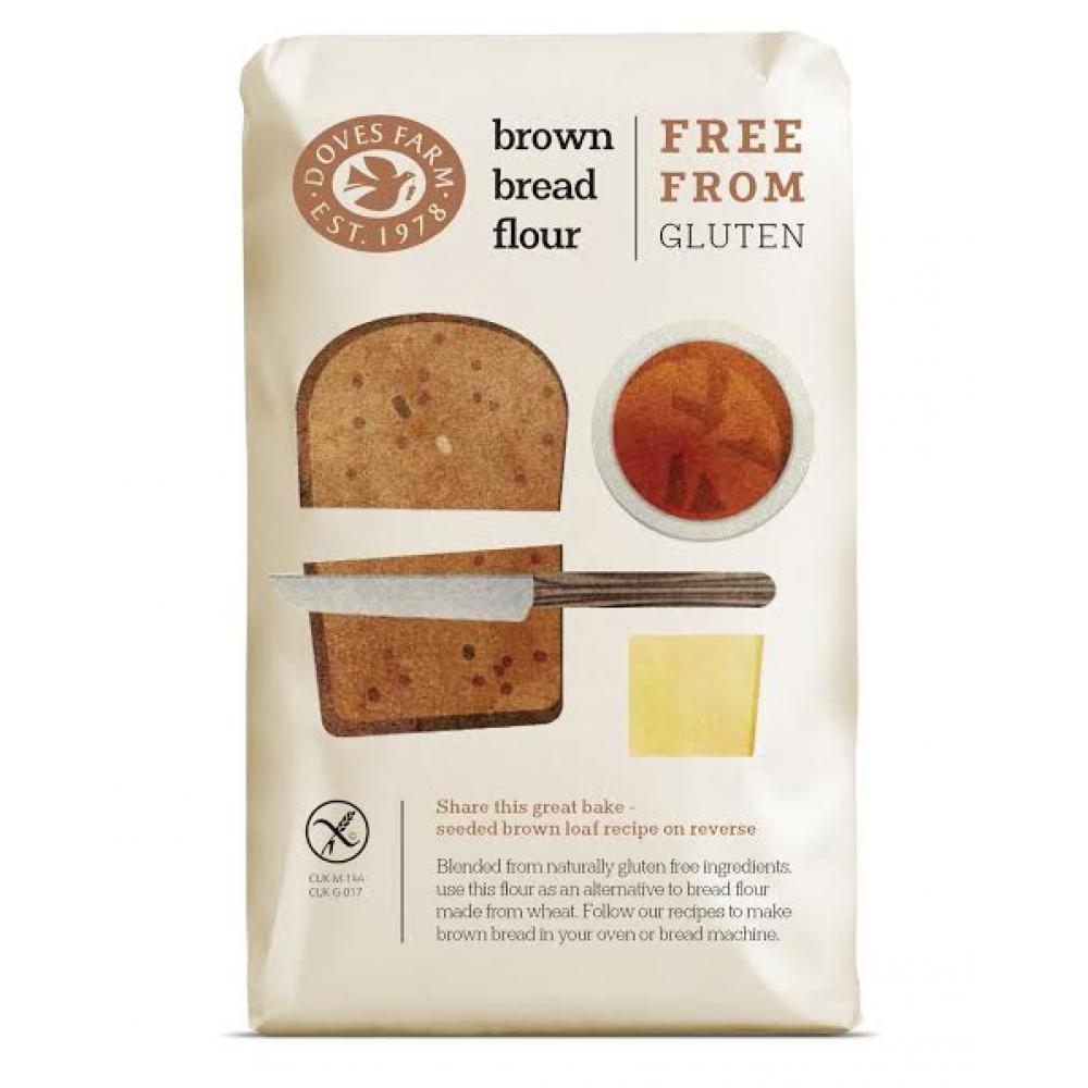 DOVES FARM Chlebová směs tmavá bez lepku 1000 g