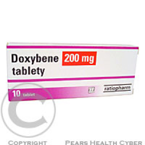 DOXYBENE 200 MG TABLETY  10X200MG Tablety