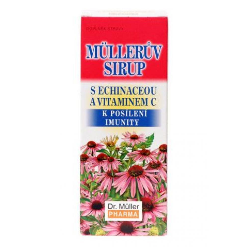 Müllerův sirup echinacea + vitamin C 320 g