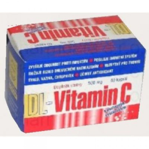 DRUZLEK DL-Vitamin C 500 mg 60 cps.
