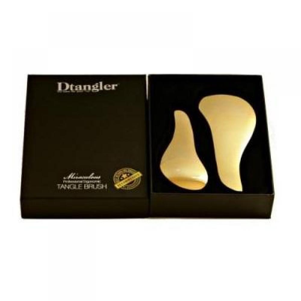 DTANGLER Set kartáčů na vlasy Miraculous Gold