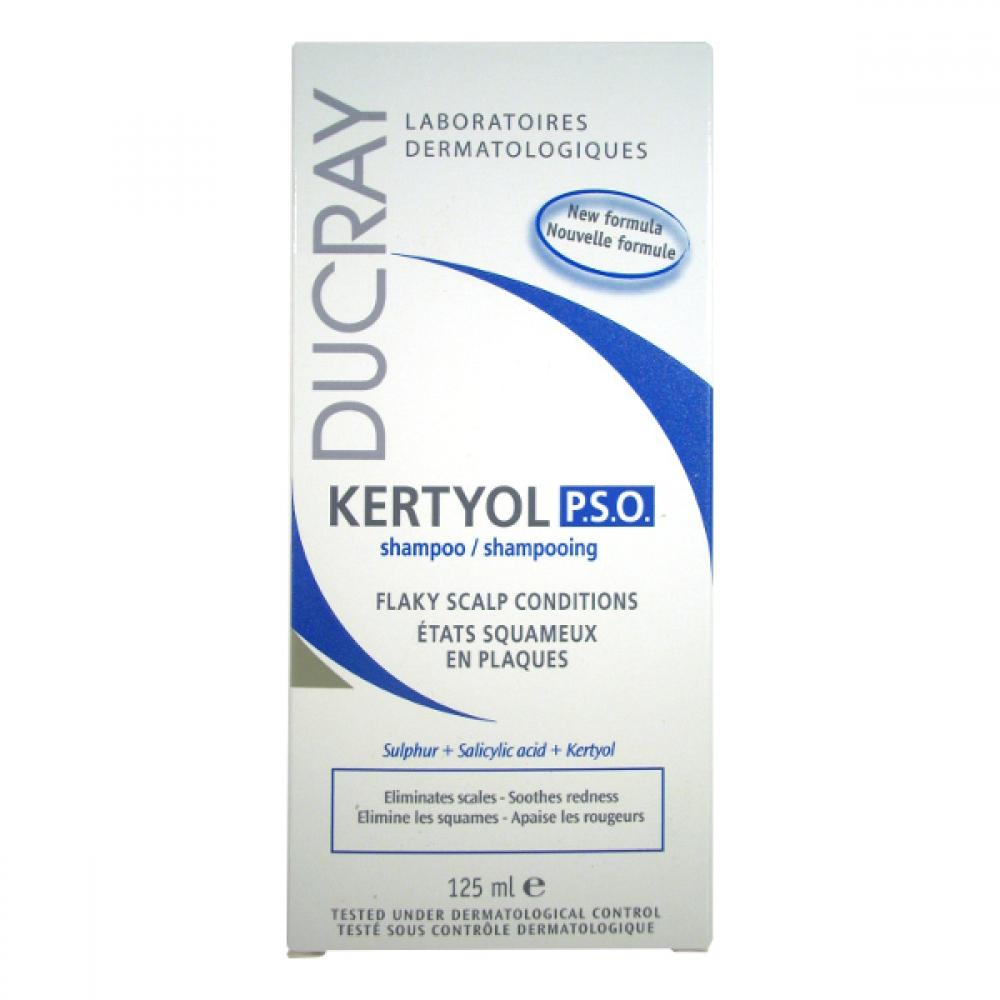 DUCRAY Kertyol PSO shampon 200 ml-chronické lupy,lupénka