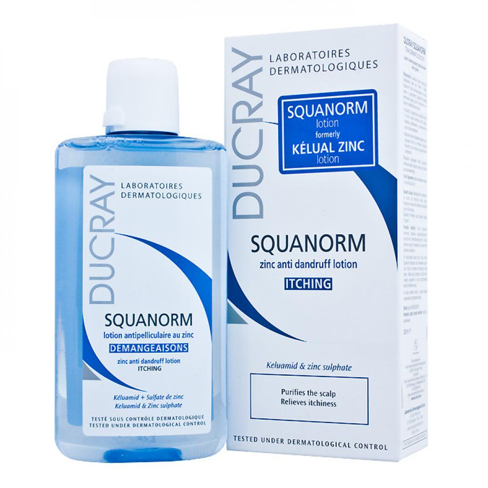 DUCRAY Squanorm lotion 200ml - roztok proti lupům