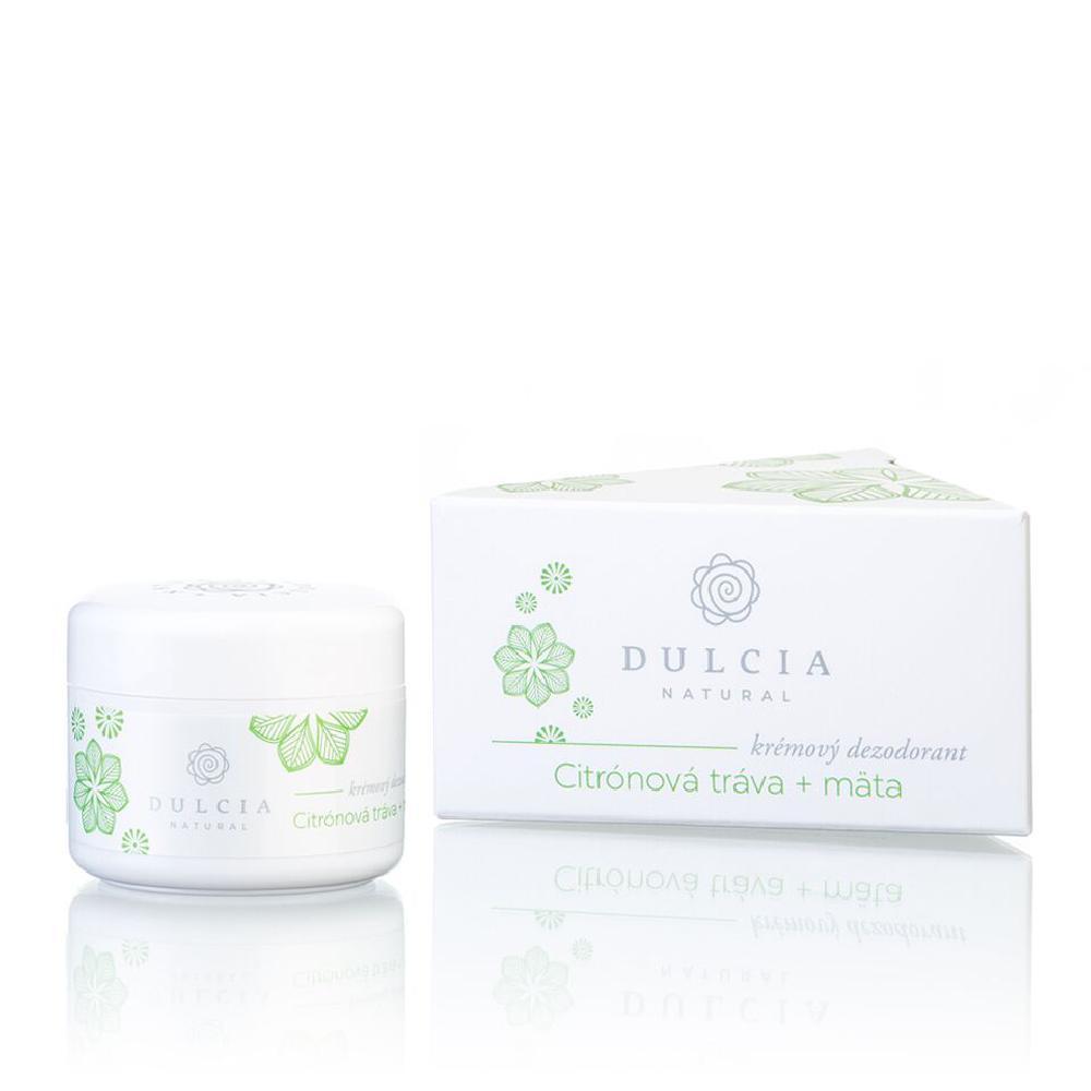 DULCIA Natural krémový deodorant Citrónová tráva 30 g