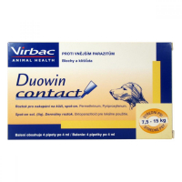 DUOWIN Contact Dog M (7,5 - 15 kg) 4 x 4 ml