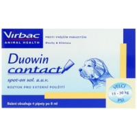 DUOWIN Contact Dog L (15 - 30 kg) 4 x 8 ml VÝPRODEJ exp. 28. 02. 2019