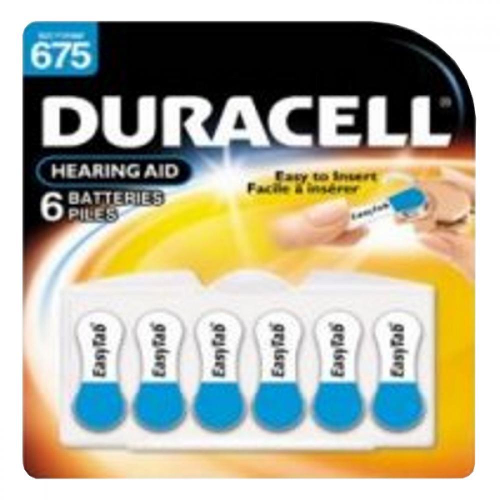 DURACELL DA 675 baterie do naslouchadel