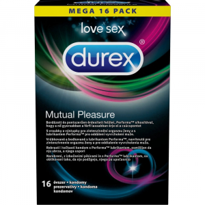 DUREX Mutual Pleasure Kondomy 16 kusů