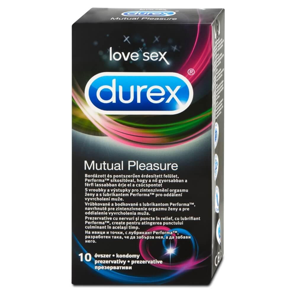 DUREX Prezervativ Mutual Pleasure 10 kusů