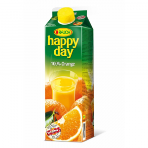 Džus Happy Day pomeranč 100 % 1l krabice