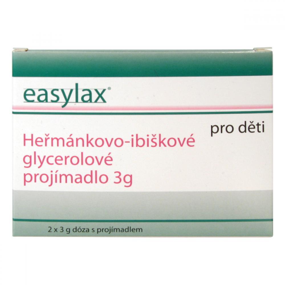 EASYLAX dětské projímadlo Chamomile 2 x 3 g
