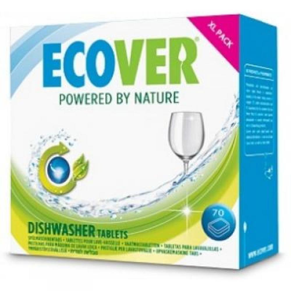 Ecover Tablety do myčky XL balení 1,4 kg 70 kusů