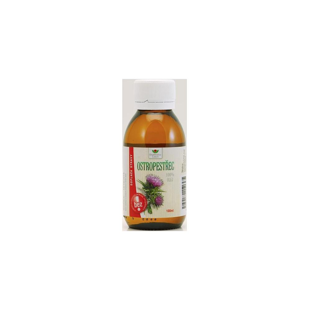 EKOMEDICA Ostropestřec - 100% olej 100 ml