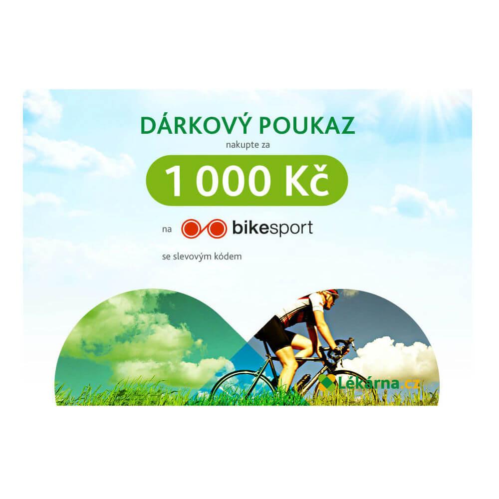 Elektronický dárkový poukaz e-shopu Bike-sport-shop.cz v hodnotě 1000 Kč