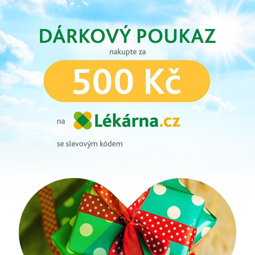 Elektronický dárkový poukaz v hodnotě 500 Kč