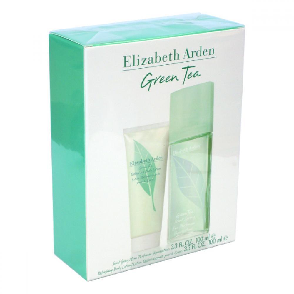 Elizabeth Arden Green Tea Parfémovaná voda 100ml Edp 100ml + 100ml tělové mléko