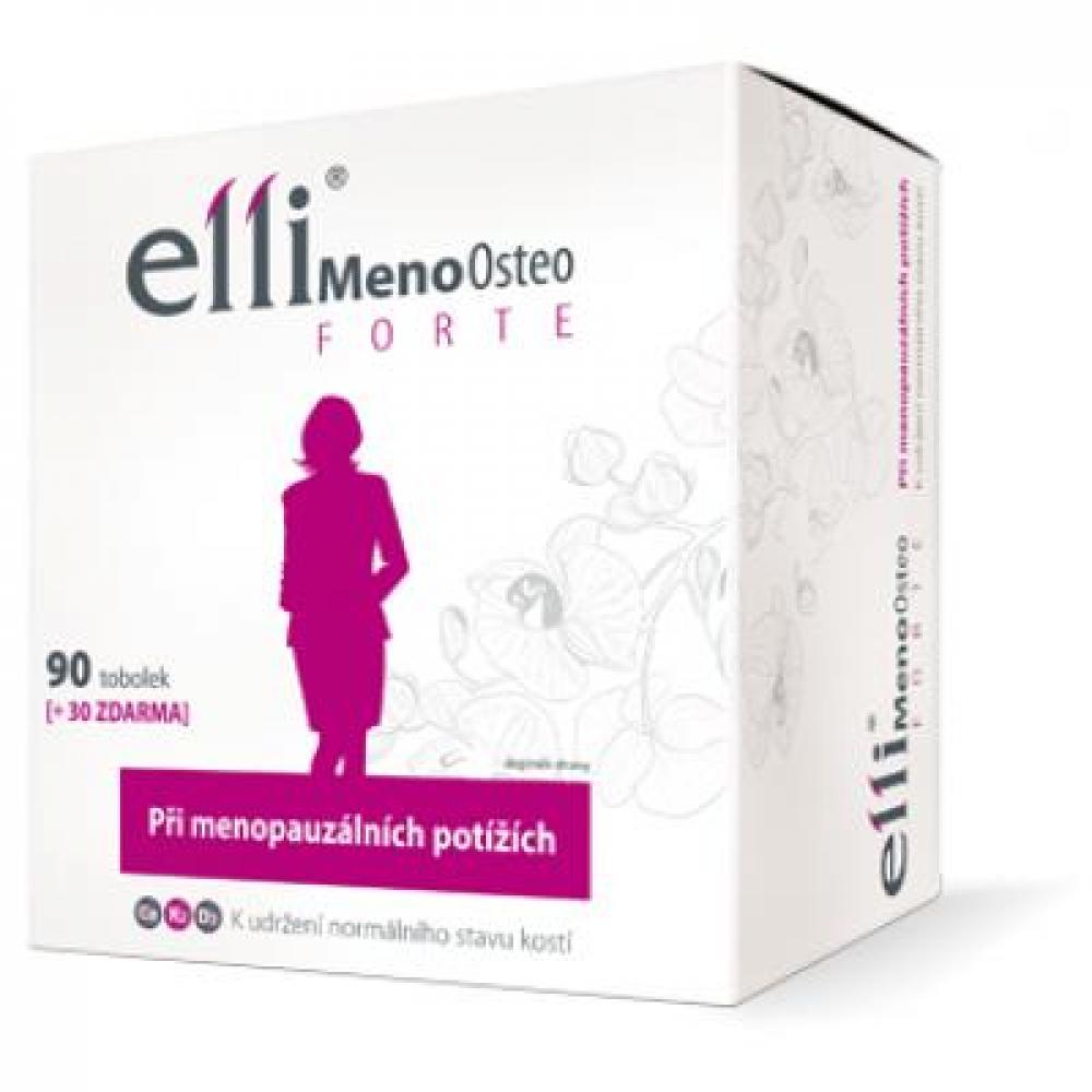Elli MenoOsteo FORTE 90 + 30 tobolek zdarma