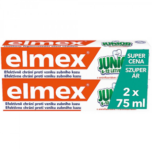 ELMEX Junior duopack 2x 75 ml