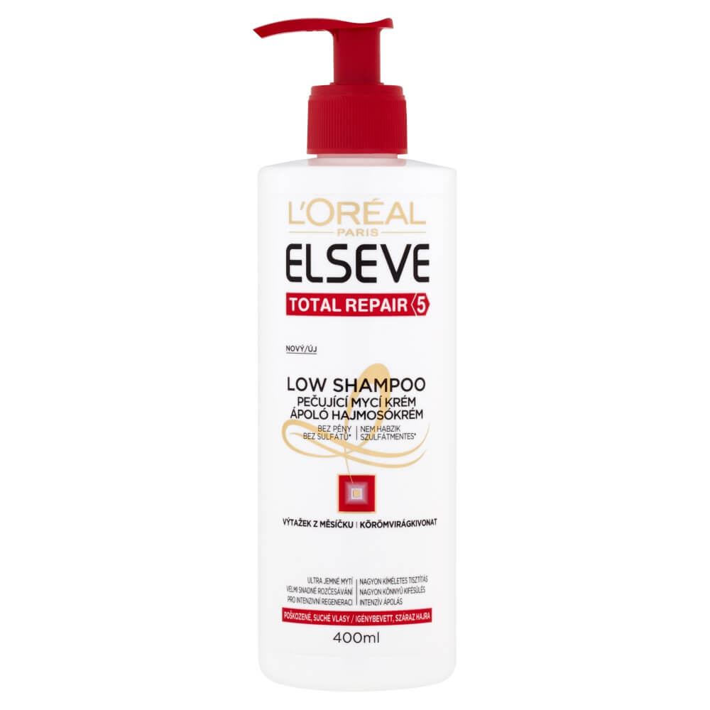 ELSEVE Low Total Repair 5 šampon na vlasy 400 ml