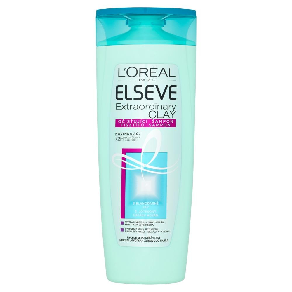 ELSEVE Extraordinary Clay šampon na vlasy 400 ml