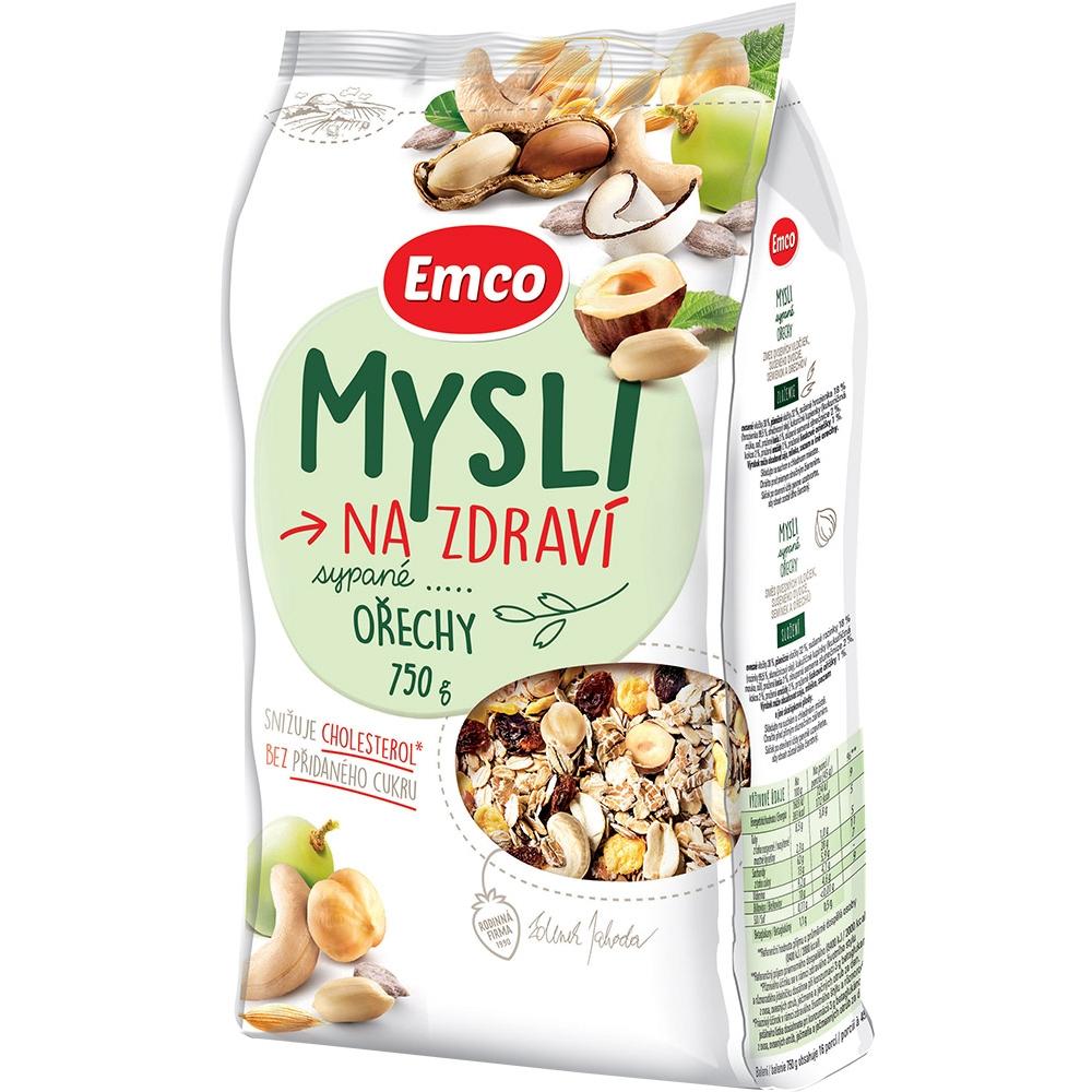 EMCO Mysli sypané S ořechy 750 g