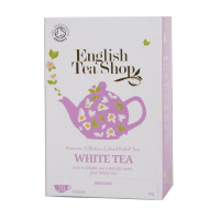 ENGLISH TEA SHOP Bio Bílý Čaj 20 sáčků
