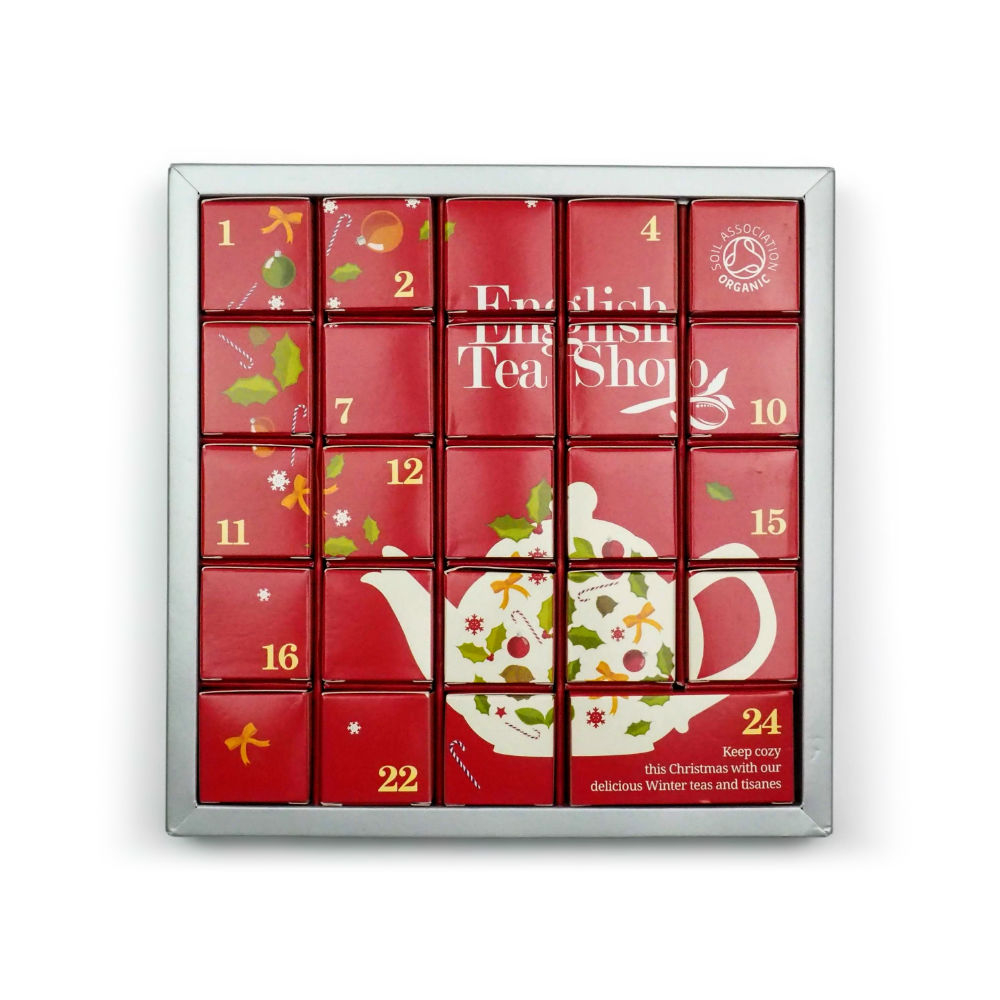 ENGLISH TEA SHOP Bio čaj Adventní kalendář 25 pyramidek - Lékárna.cz 3d08dfd1af