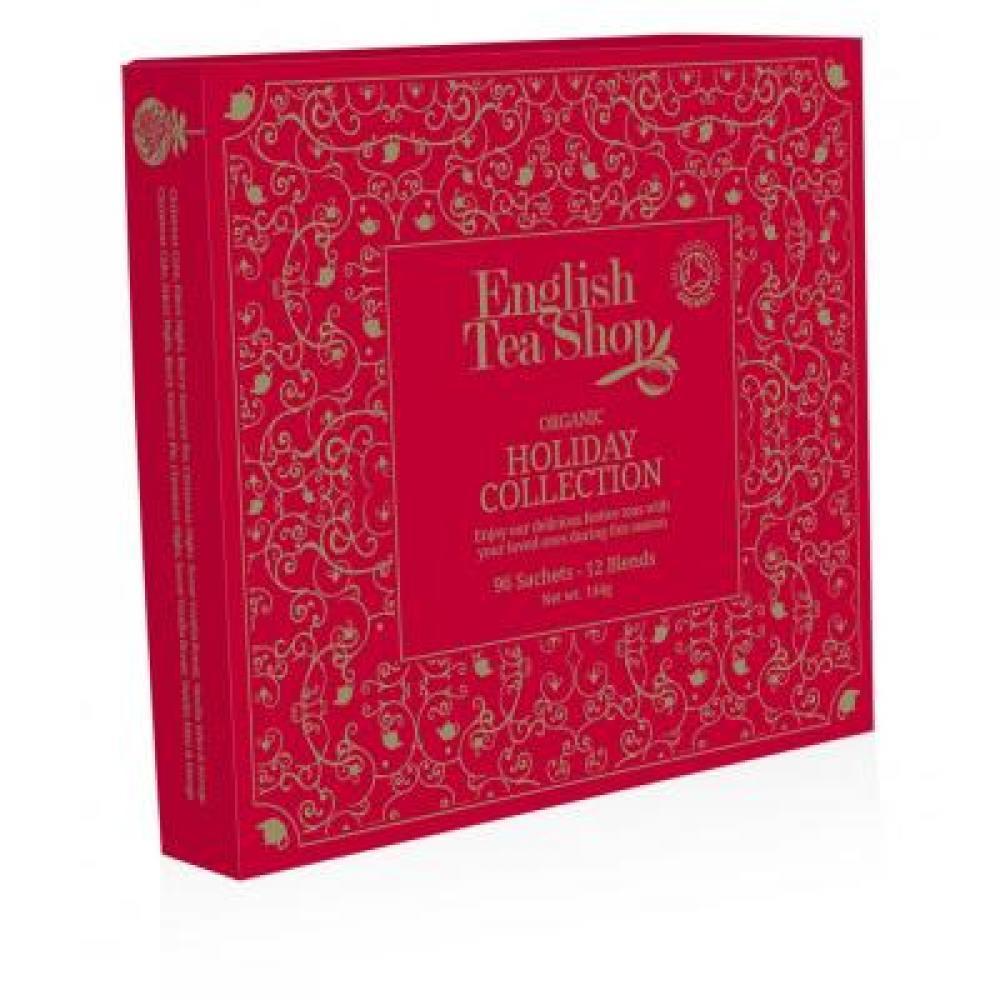 ENGLISH TEA vánoční čaj Červená kolekce BIO 96 nálevových sáčků