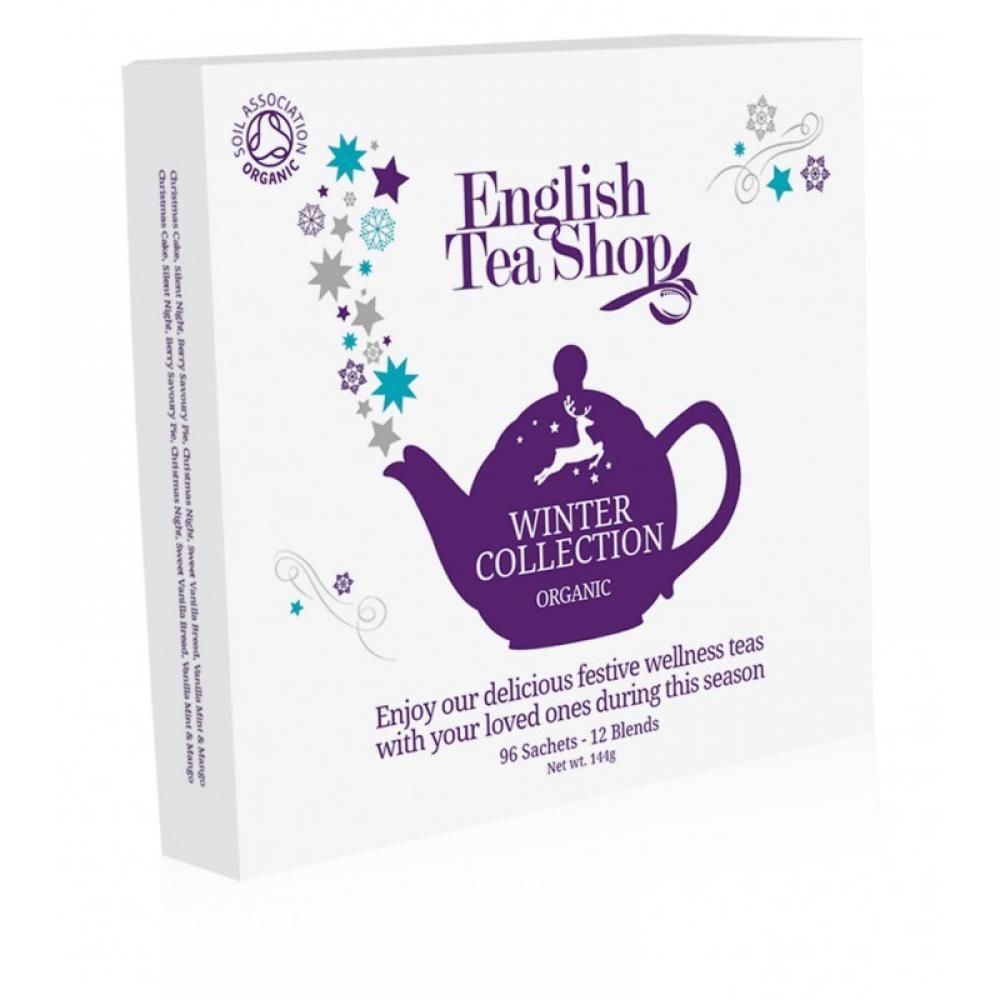 ENGLISH TEA vánoční čaj Bílá zimní kolekce BIO 96 nálevových sáčků