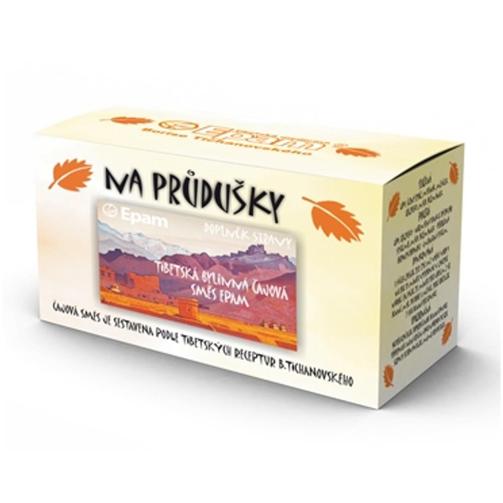 EPAM čaj porcovaný na dýchací cesty a průdušky 2 g x 20 ks