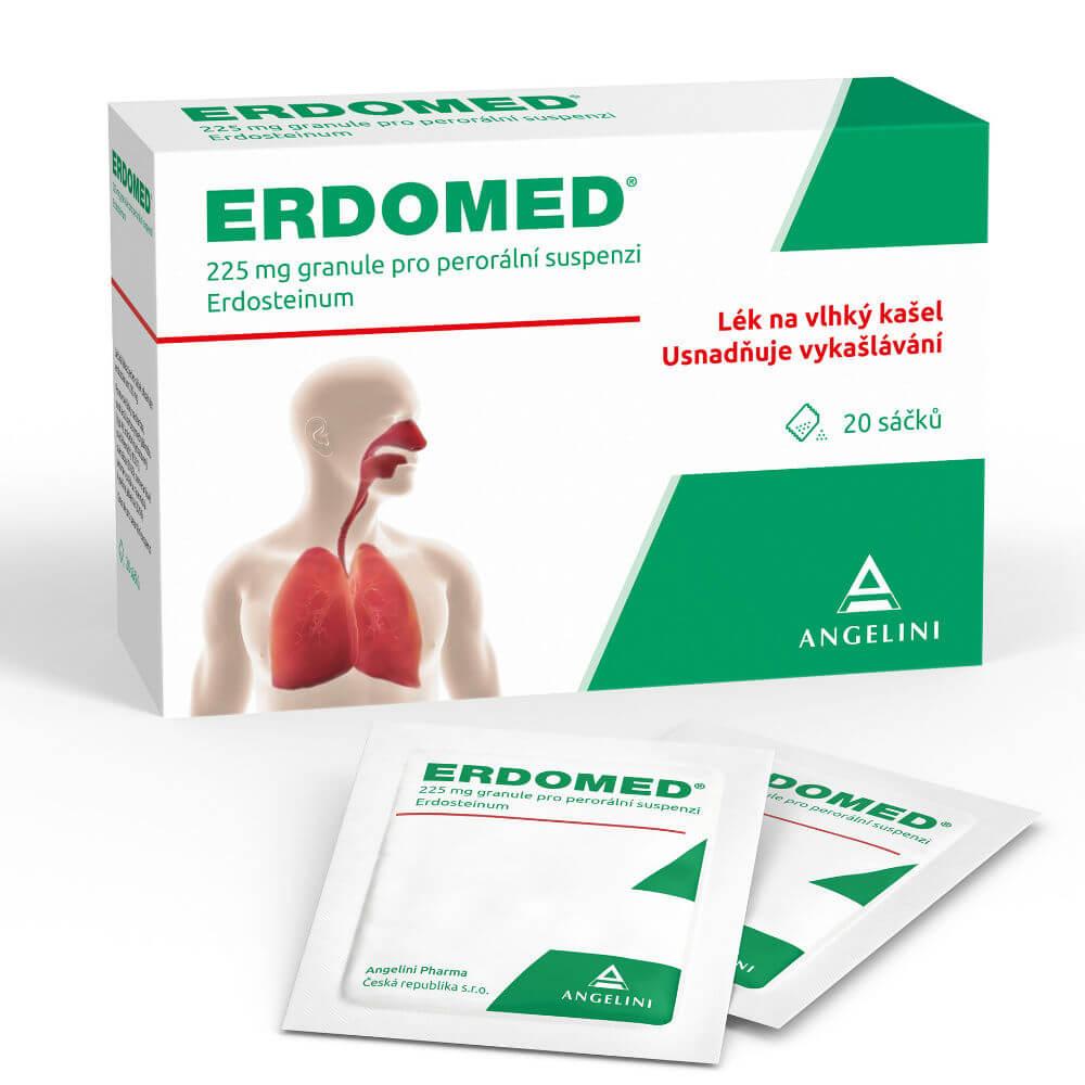 ERDOMED 20x225 mg sáčků
