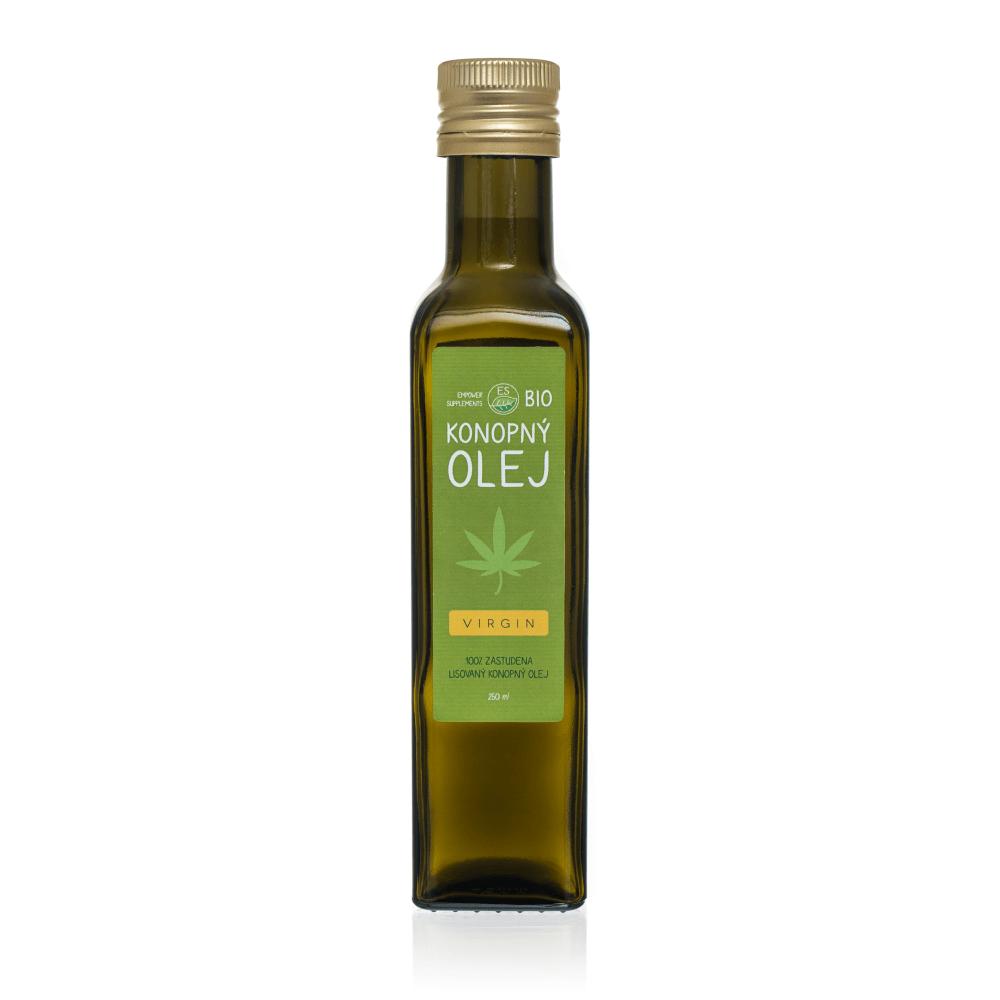 ES BIO Konopný olej 250 ml