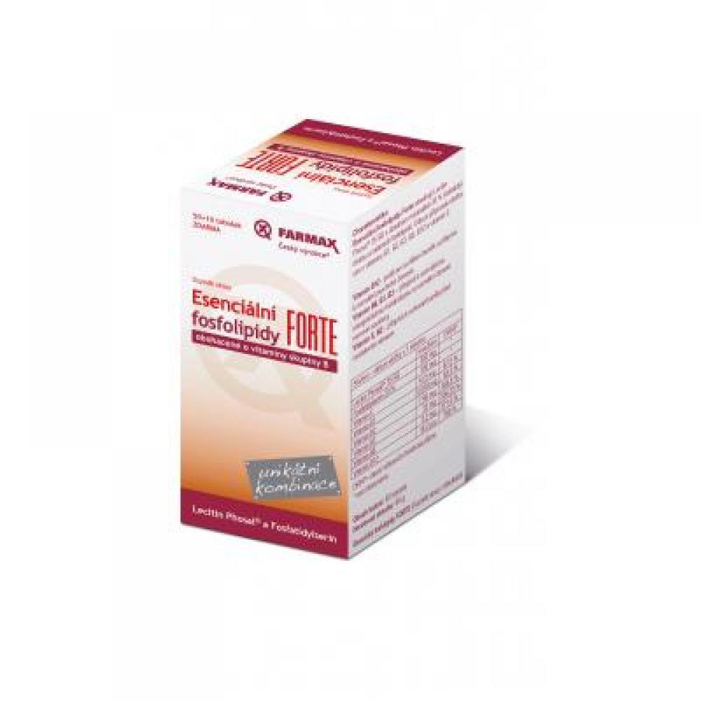FARMAX Esenciální fosfolipidy FORTE 50+10 tobolek ZDARMA