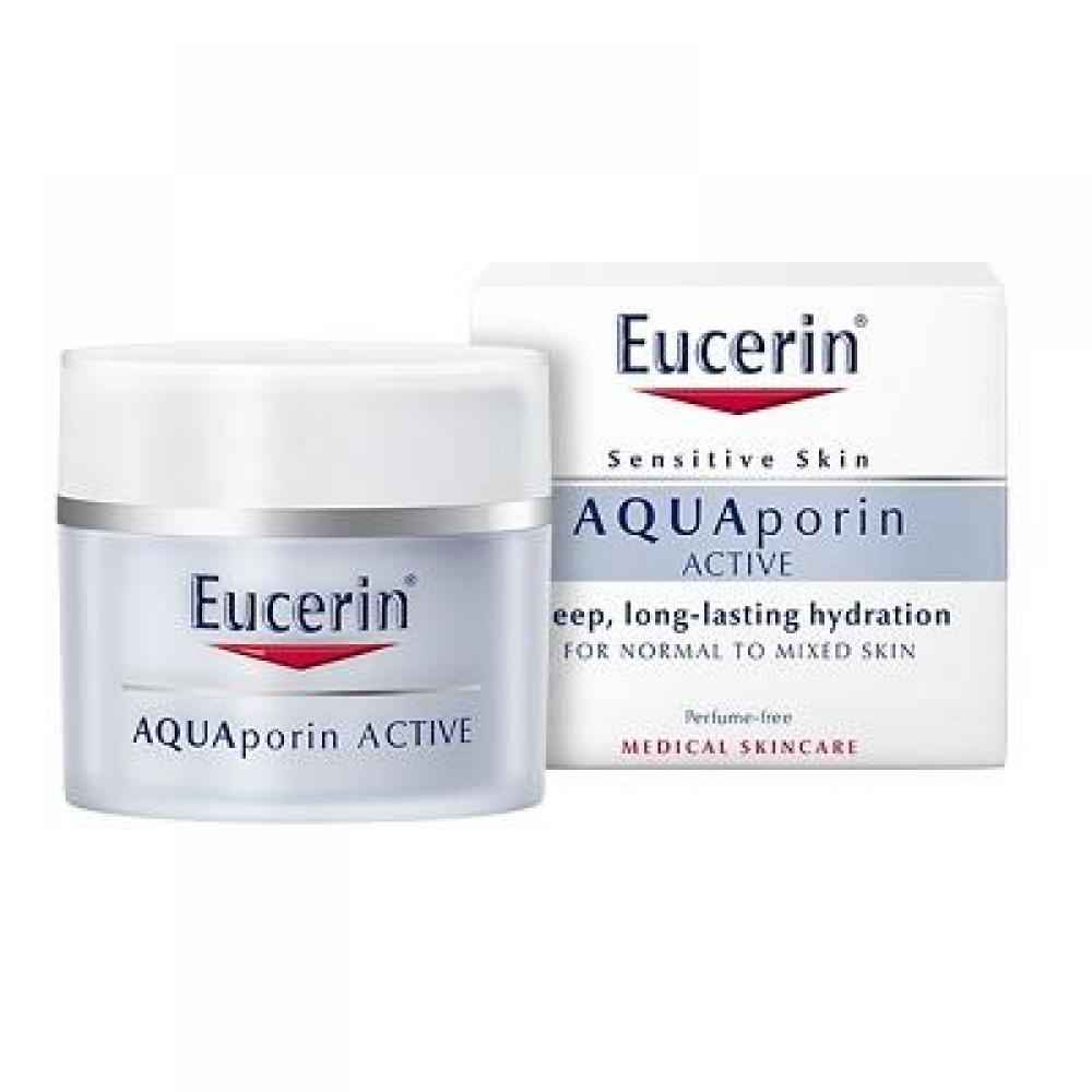 EUCERIN Hydratační krém Eucerin AQUAporin ACTIVE pleť – lehká textura 50 ml