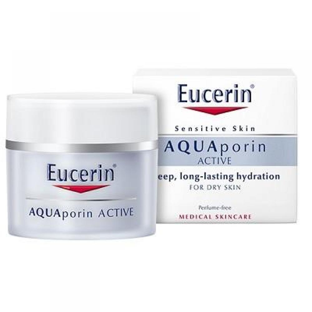 EUCERIN Hydratační krém Eucerin AQUAporin ACTIVE – výživná textura 50 ml