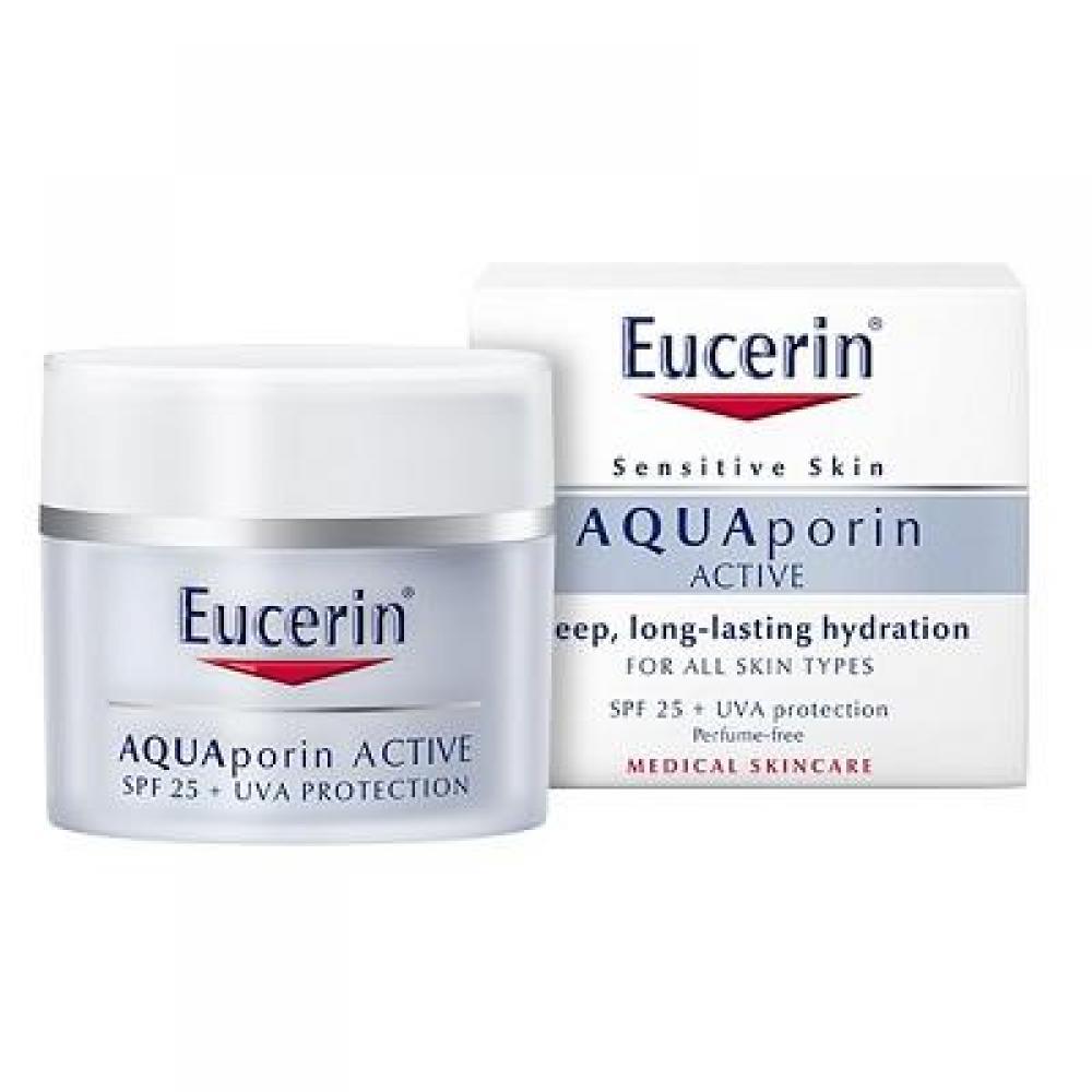 EUCERIN Hydratační krém AQUAporin ACTIVE s UV ochranou SPF 25+ UVA 50 ml