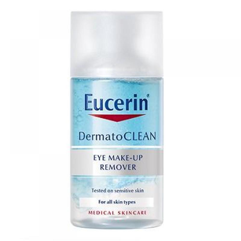 Eucerin DermatoCLEAN Odličovač na oči 125 ml