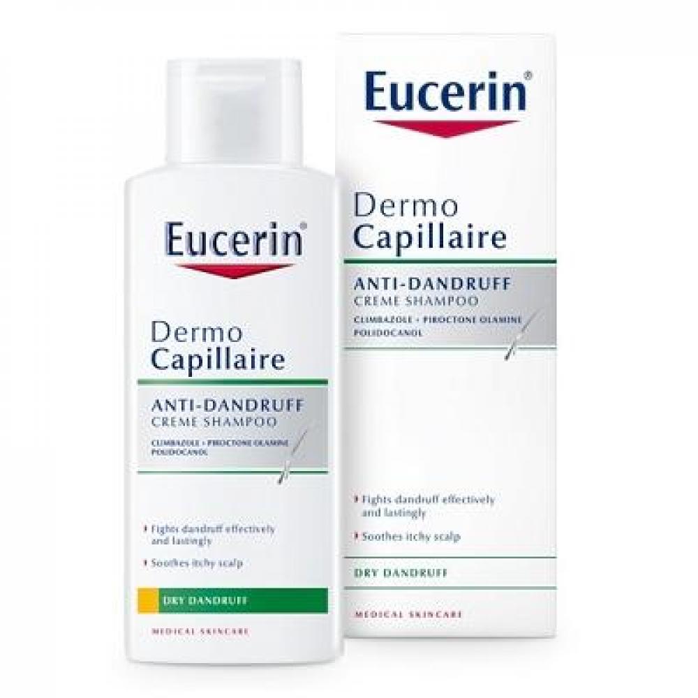 EUCERIN DermoCapillaire Šampon proti suchým lupům 250 ml