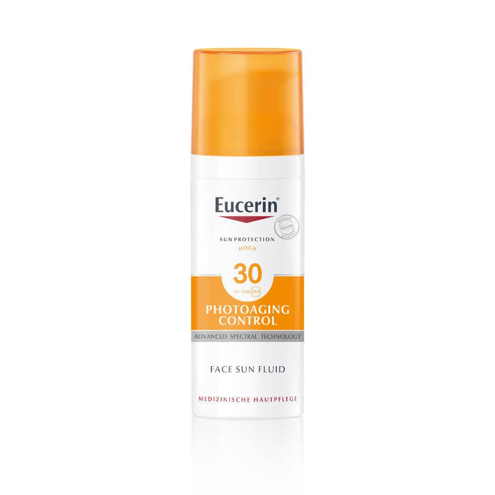 EUCERIN Emulze na opalování na obličej proti vráskám Photoaging Control SPF 30 50 ml