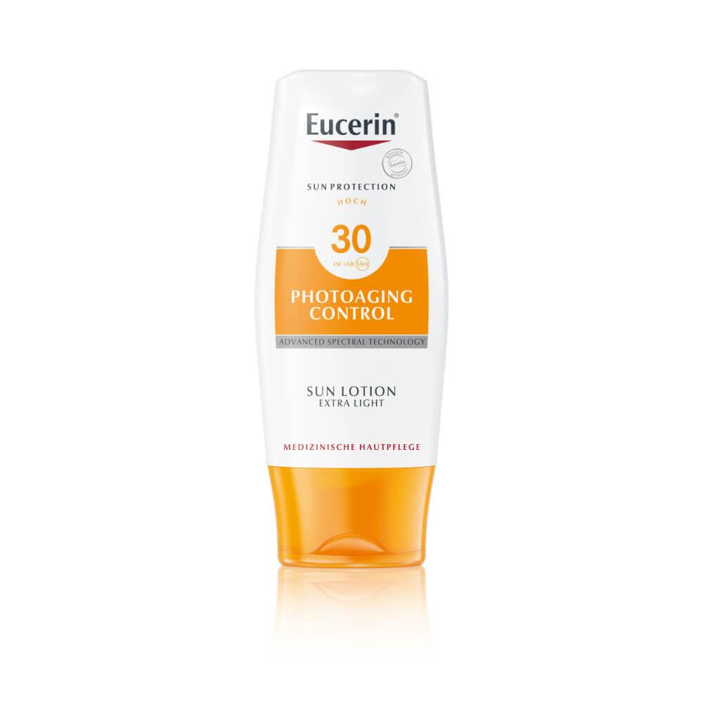 EUCERIN Extra lehké mléko na opalování Photoaging Control SPF 30 150 ml