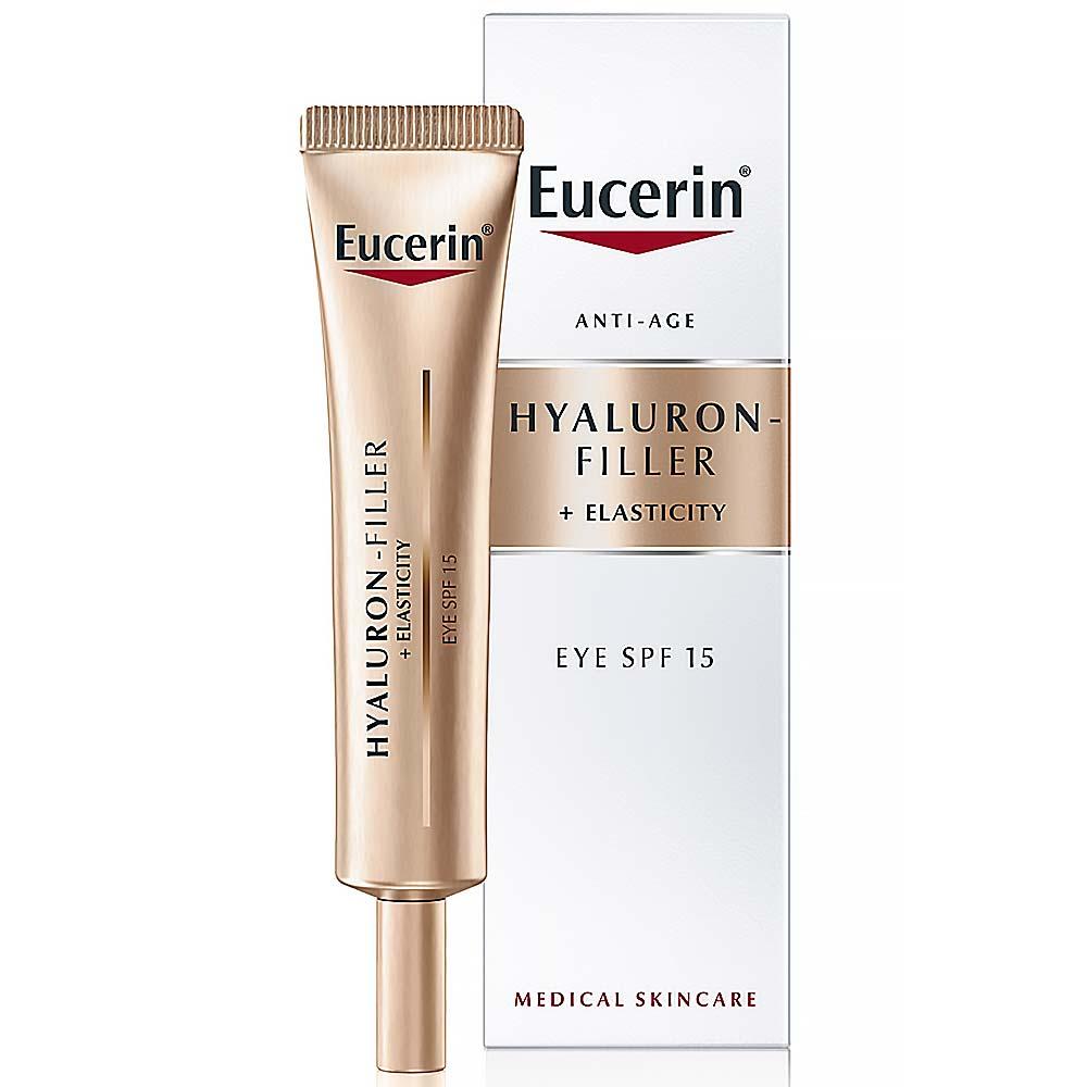 EUCERIN HYALURON-FILLER+ELASTICITY oční krém 15 ml